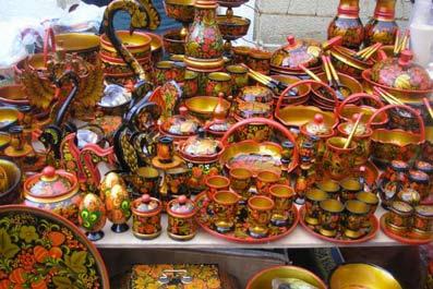 VII всероссийский Фестиваль «Золотая хохлома» проходит в Нижегородской области