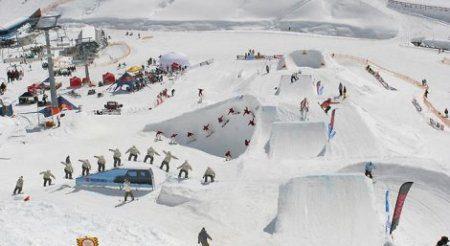 Burton Park Казань примет фристайлов-сноубордистов