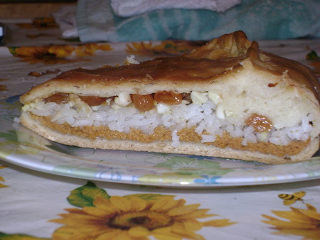 Губадиа - традиционное татарское блюдо
