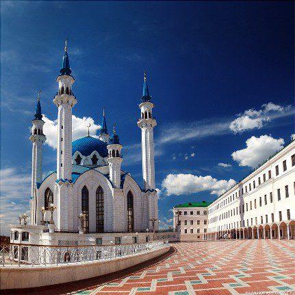 Красивый город Татарстан