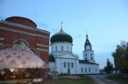 Строительство нового храм в городе Набережные Челны