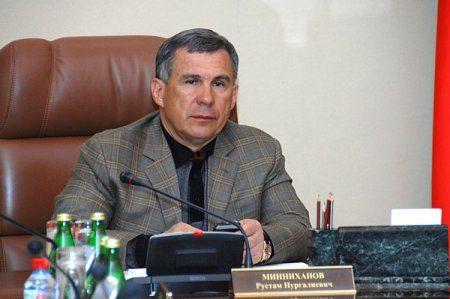 Рустам Минниханов провёл заседание Кабинета Министров