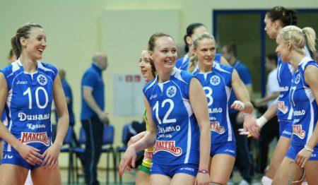 Казанские волейболистки победили московскую команду