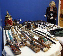 Выставка оружия в Эрмитаже