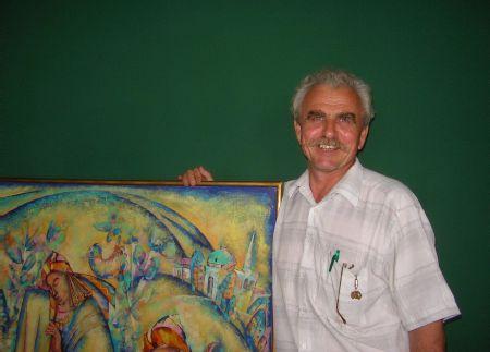 Жителя Елабуги был признан лучшим живописцем