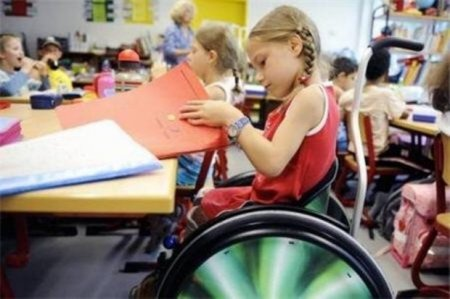 Для детей - инвалидов должны оборудовать школы