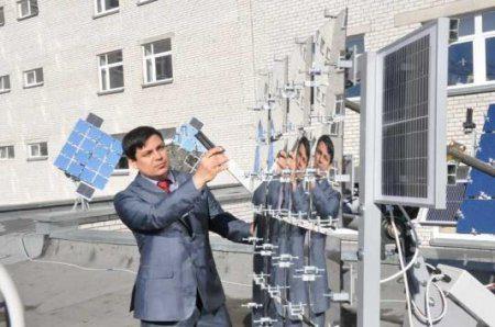 Энергоуниверситет с зеркалами на крыше