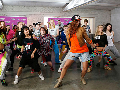 Казанская команда побеждает в танцевальном конкурсе