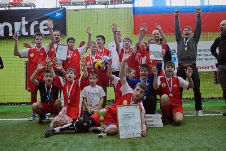 Команда из Альметьевского детдома стала победителем турнира по мини-футболу