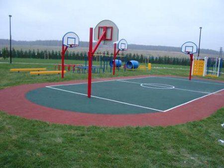 Строительство спортивной площадки в Татарстане