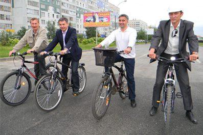 Мэр города Набережные Челны принял новый участок дороги на проспекте Мира