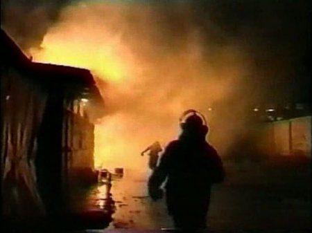 В Нижнекамске на заводе произошло возгорание