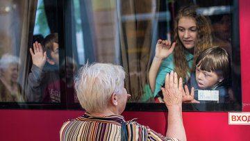 Казанцы вывозят беженцев с юго-востока Украины
