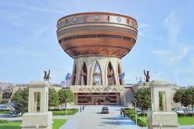Новый дворец бракосочетания на берегу Казанки получил название «Гаилэ узэге»