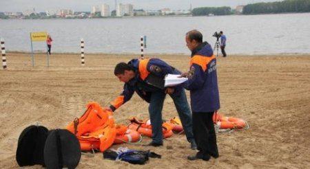 Проверка пляжей Татарстана