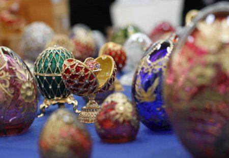 Проведение предстоящей выставки драгоценных пасхальных яиц в Казани