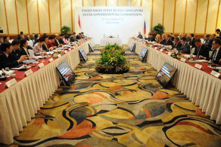 Рустам Минниханов принял участие в Седьмом Российско-Сингапурском форуме