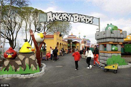 В Казани была обсуждена возможность скорого открытия парка развлечений под названием «Angry Birds»
