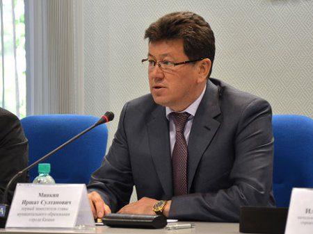 Иршат Минкин ушел с поста вице-мэра Казани