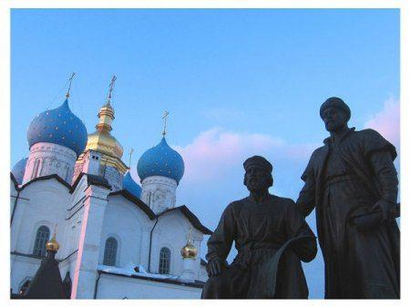 Москва, Санкт-Петербург и Казань