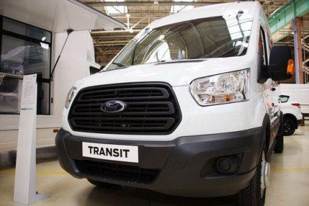 В Елабуге началось производство Ford Transit